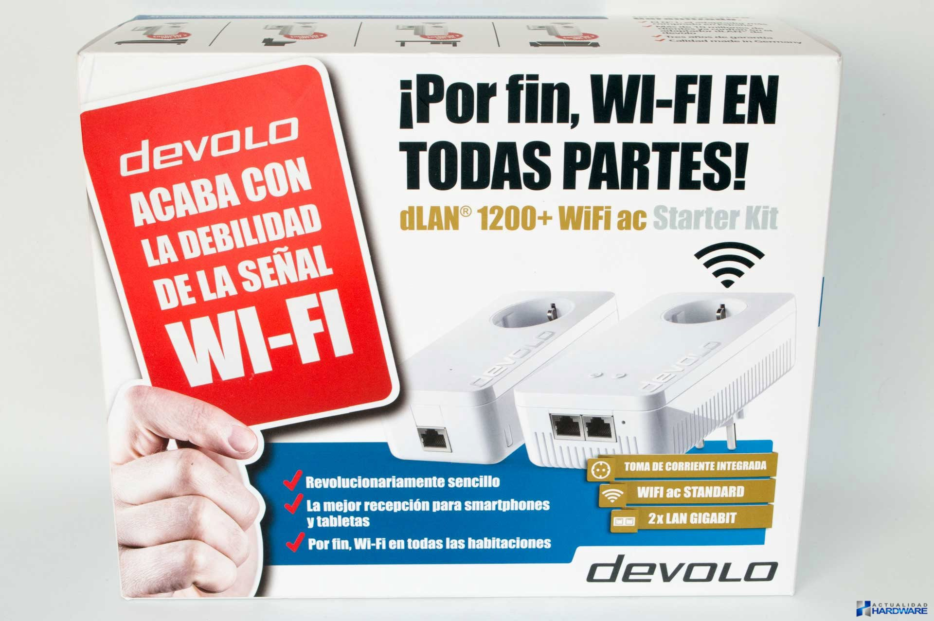 review devolo dlan 1200 wifi ac starter kit actualidad. Black Bedroom Furniture Sets. Home Design Ideas