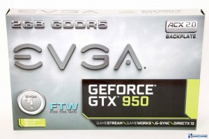 EVGA GEFORCE GTX 950 FTW GAMING ACX 2.0 REVIEW UNBOXING_001