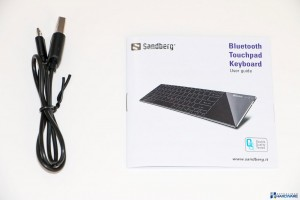 SANDBERG BLUETOOTH TOUCHPAD KEYBOARD REVIEW UNBOXING__003
