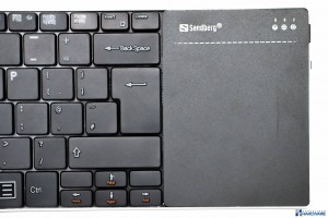 SANDBERG BLUETOOTH TOUCHPAD KEYBOARD REVIEW UNBOXING__016