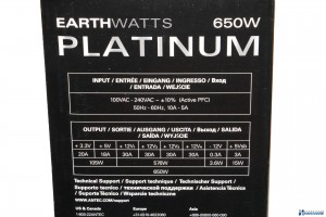 ANTEC EARTH WATTS PLATINUM 650W REVIEW UNBOXING_003