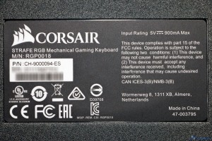 CORSAIR STRAFE RGB REVIEW UNBOXING_012