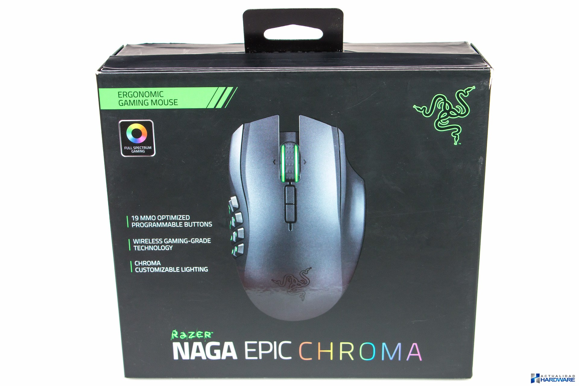 Review Razer Naga Epic Chroma Actualidad Hardware Mouse Wired Wireless Mmo Gaming Unboxing 001