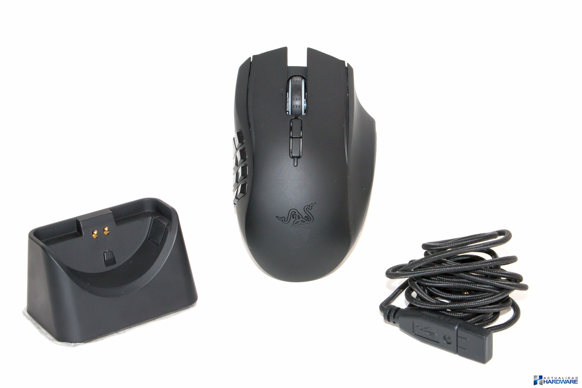 Review Razer Naga Epic Chroma Actualidad Hardware Mouse Wired Wireless Mmo Gaming Unboxing 006