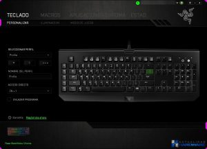 RAZER BLACKWIDOW CHROMA REVIEW SYNAPSE TEST_001