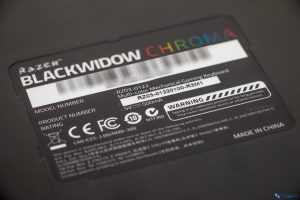 RAZER BLACKWIDOW CHROMA REVIEW UNBOXING_013
