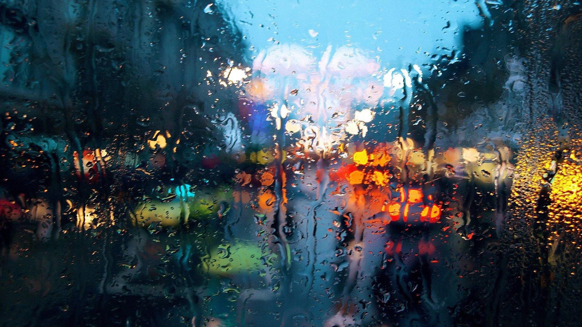 Wet Window Photography Hd Wallpaper 19201080 46482jpg